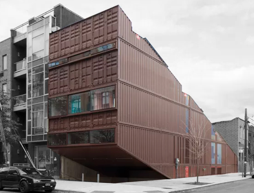 Shipping Container Home Stacked