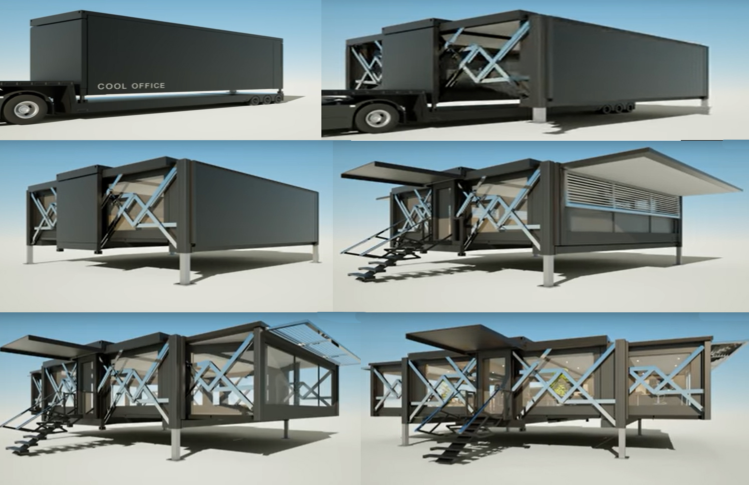 Folding Shipping Containers